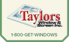 Taylors Window and Screen